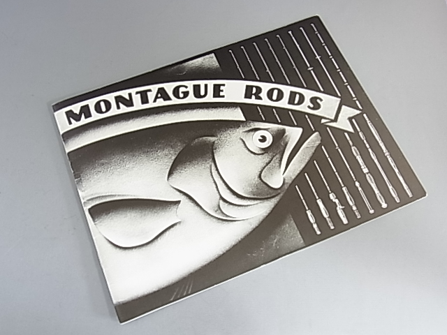 <b>絶版品</b> Montague Rods Reproduction Catalog NEW